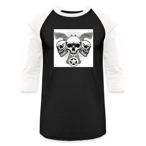 Skulls - Baseball T-Shirt