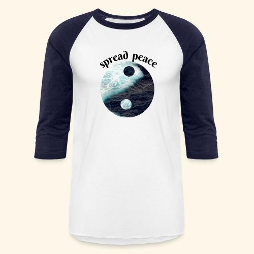 spread peace - Baseball T-Shirt