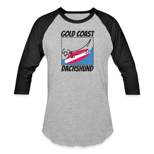 Gold Coast Dachshund - Baseball T-Shirt