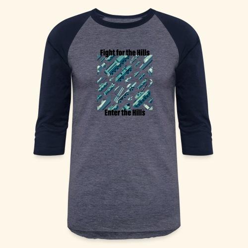 Fight or Enter - Baseball T-Shirt