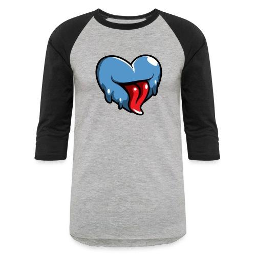 Crazy Heart - Unisex Baseball T-Shirt