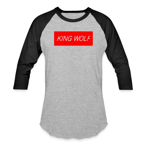 KING WOLF - Baseball T-Shirt