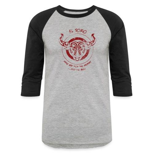El Toro - Unisex Baseball T-Shirt