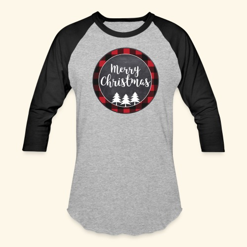 Merry Christmas Country Tee - Baseball T-Shirt