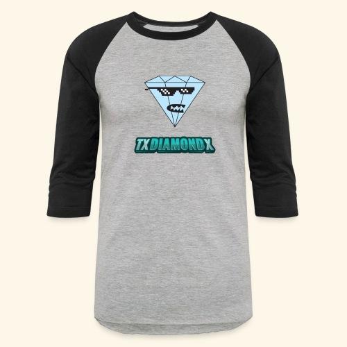 Txdiamondx Diamond Guy Logo - Baseball T-Shirt