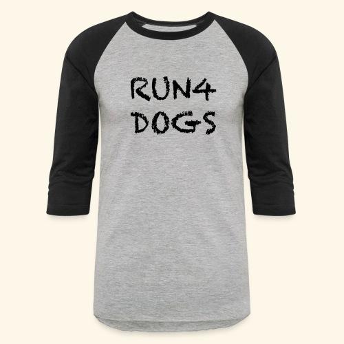 RUN4DOGS NAME - Baseball T-Shirt