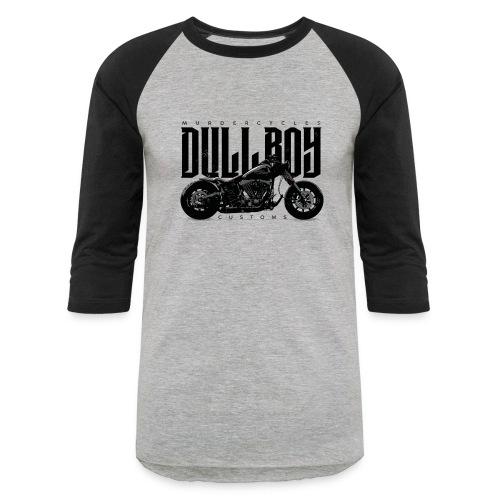 Dull Boy Customs bike - Unisex Baseball T-Shirt