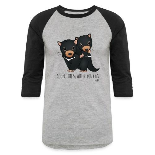 snugglecoats_tasmaniandev - Unisex Baseball T-Shirt