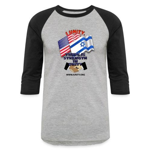 ISRAEL USA E02 - Unisex Baseball T-Shirt
