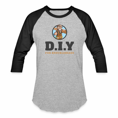 DIY For Knuckleheads Logo - Baseball T-Shirt