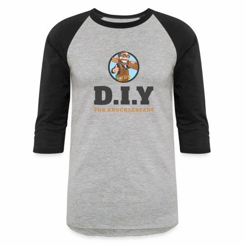 DIY For Knuckleheads Logo - Baseball T-Shirt