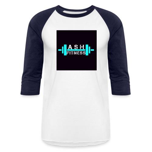 ASH FITNESS ACCESSORIES - Baseball T-Shirt