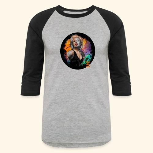 Marilyn Monroe - Baseball T-Shirt