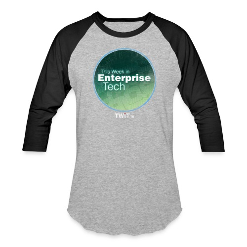 This Week in Enterprise Tech - distressed - Unisex Baseball T-Shirt