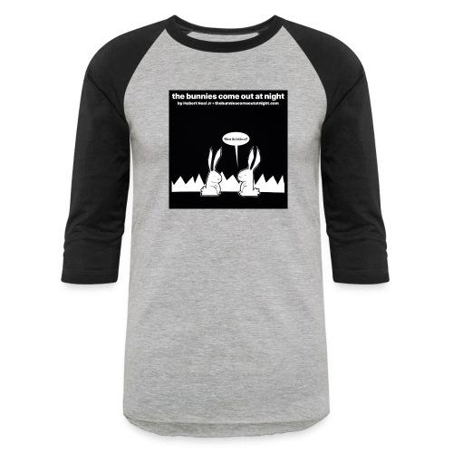 tbcoan Where the bitches at? - Baseball T-Shirt