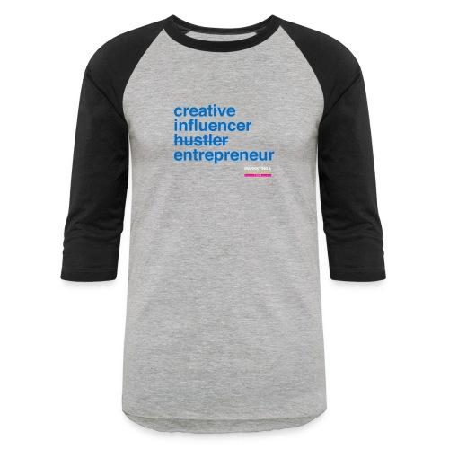 Marketing & Millennial Tee - Unisex Baseball T-Shirt