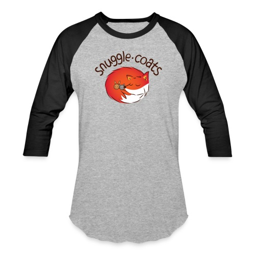 snugglecoatsfinal png - Baseball T-Shirt