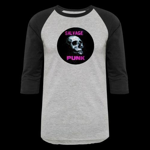Salvage Punk Shirt 3d - Unisex Baseball T-Shirt