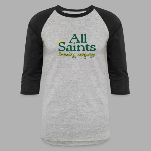 All Saints Logo Full Color - Unisex Baseball T-Shirt