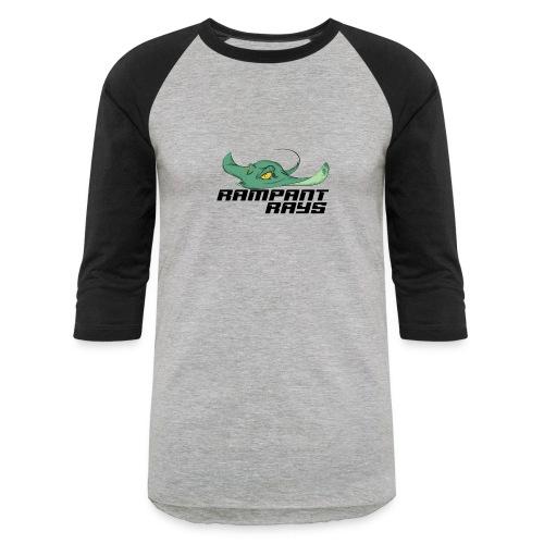 Rampant rays - Unisex Baseball T-Shirt