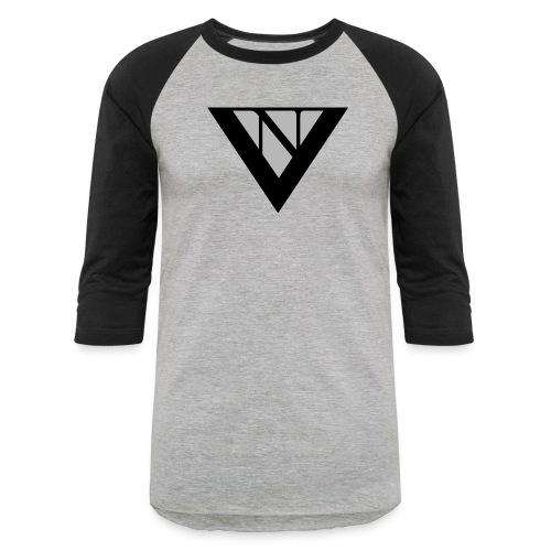 nick vance logo 3 - Unisex Baseball T-Shirt