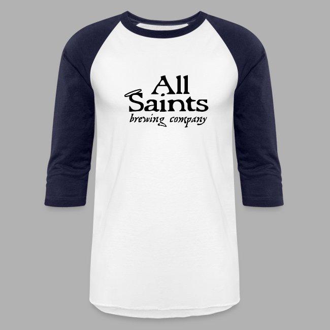 All Saints Logo Black