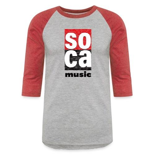 Soca music - Baseball T-Shirt