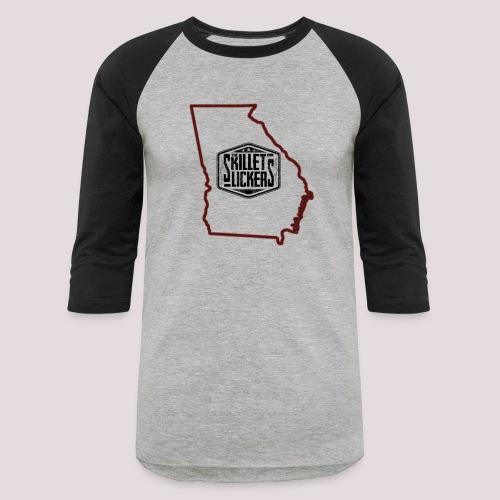 Peach Pickin' - Unisex Baseball T-Shirt