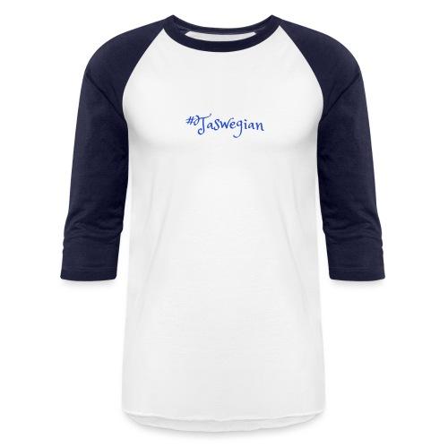 Taswegian Blue - Unisex Baseball T-Shirt
