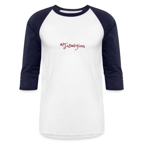 Taswegian Red - Unisex Baseball T-Shirt
