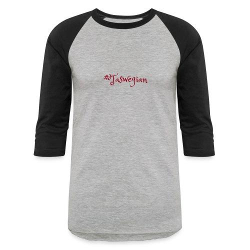 Taswegian Red - Baseball T-Shirt