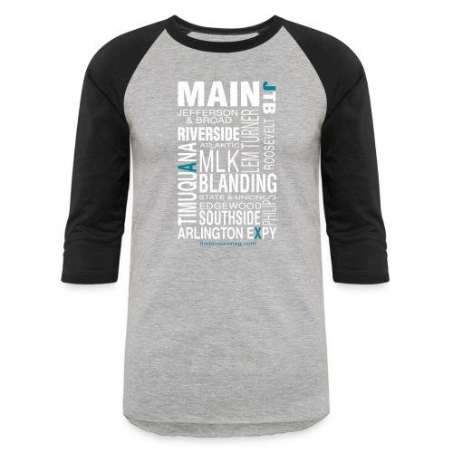 Jacksonville Streets - Baseball T-Shirt