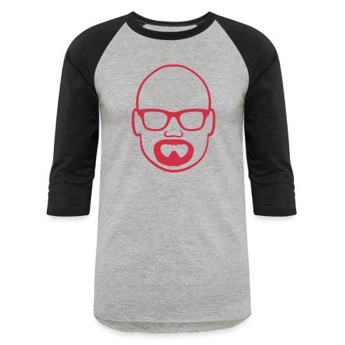 MDW Music official remix logo - Baseball T-Shirt