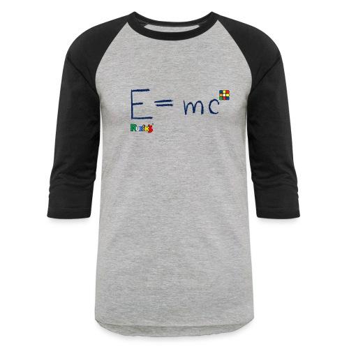 Rubik's Cube Formula Theory Of Relativity - Baseball T-Shirt