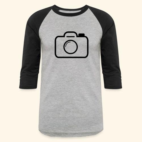 Camera - Baseball T-Shirt