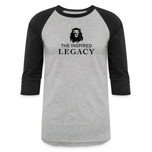 The Inspired Legacy Lion Head - Baseball T-Shirt