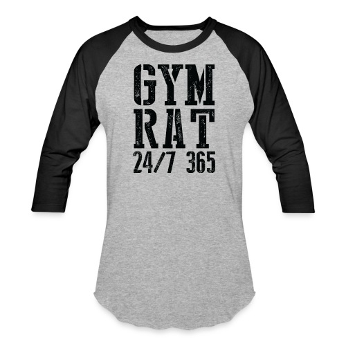 Gym Rat - Baseball T-Shirt