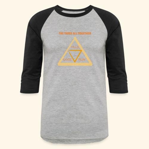 Run4Dogs Triangle - Baseball T-Shirt