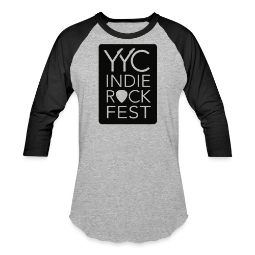 YYCIRFlogoseethrough Alph - Unisex Baseball T-Shirt