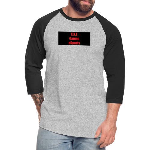 E.X.E Games eSports - Unisex Baseball T-Shirt