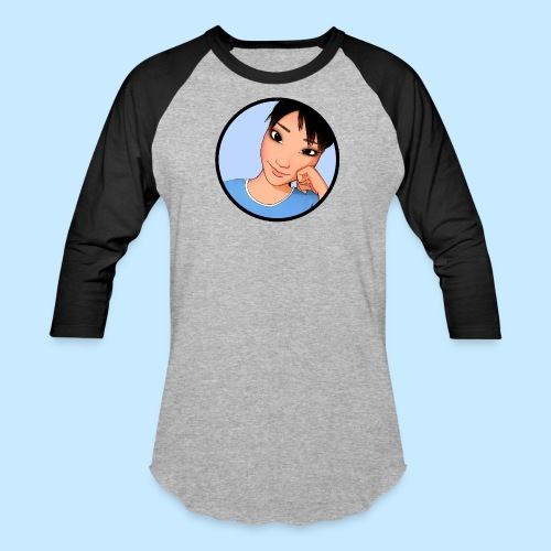 Ami Cheek Circle (anime) - Baseball T-Shirt