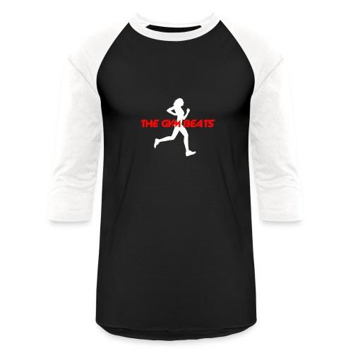 The GYM BEATS - Music for Sports - Unisex Baseball T-Shirt