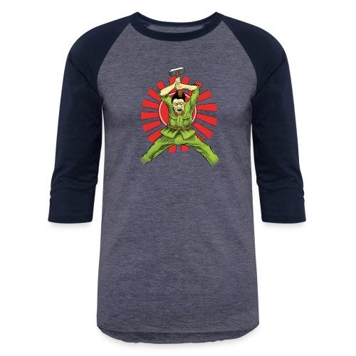 The Asian Warrior - Baseball T-Shirt