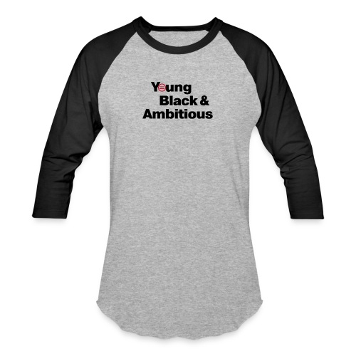 YBA white and gray shirt - Baseball T-Shirt