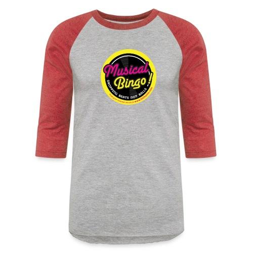 MUSICAL BINGO LOGO - Baseball T-Shirt