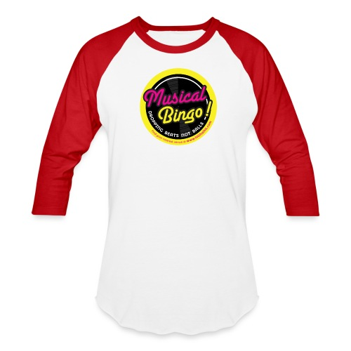 MUSICAL BINGO LOGO - Baseball T-Shirt