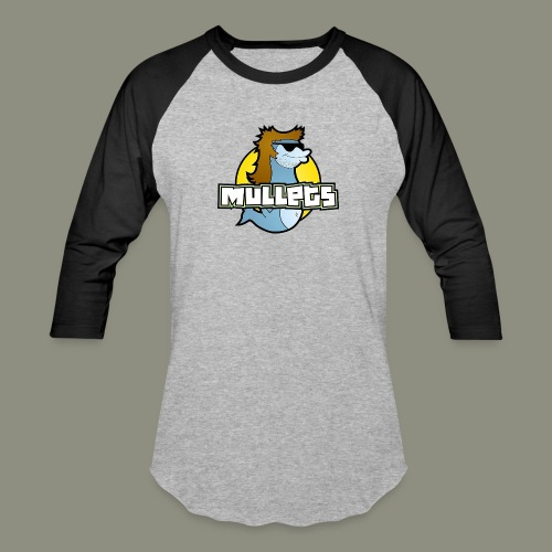 mullets logo - Baseball T-Shirt