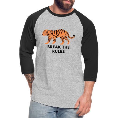 Tiger Print Unisex T-shirts and Hoodies - Unisex Baseball T-Shirt