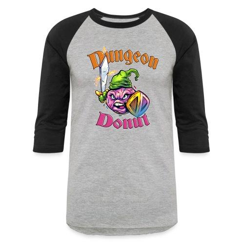 Dungeon Donut [Variant] - Unisex Baseball T-Shirt
