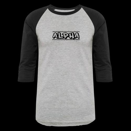 Alpha Design - Unisex Baseball T-Shirt